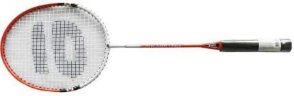 Ракетка для бадминтона Atemi, сталь, чехол 3/4, красн/бел, BA-200