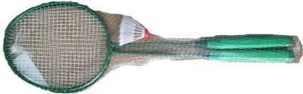 Набор для бадминтона Atemi, 2 ракетки + волан, сталь, салат., BAS-9