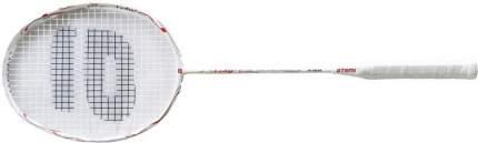 Ракетка для бадминтона Atemi, жен., графит, чехол, бел/красн, BA-1000L