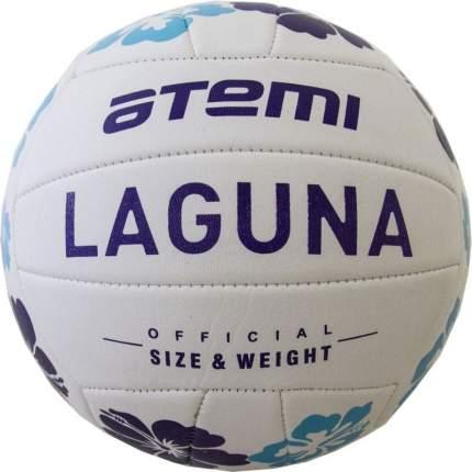 Волейбольный мяч Atemi Laguna №5 белый/голубой/темно-синий