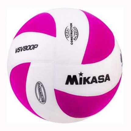 Волейбольный мяч Mikasa VSV 800P №5 белый/розовый