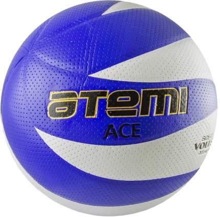 Волейбольный мяч Atemi Ace №5 белый/синий