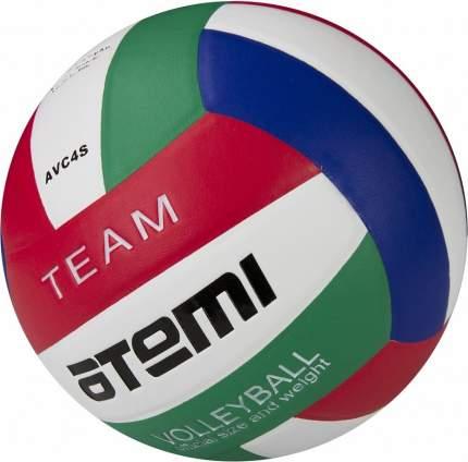 Волейбольный мяч Atemi Team №5 белый/синий/красный/зеленый