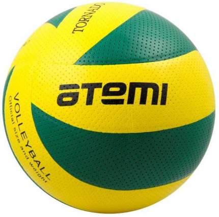 Волейбольный мяч Atemi Tornado PVC №5 желтый/зеленый