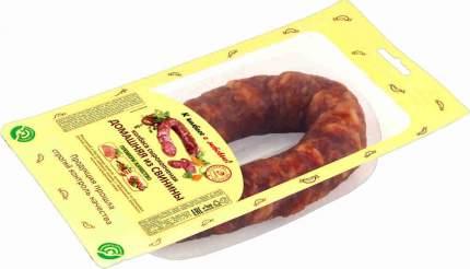 Колбаса Иней сырокопченая домашняя из свинины 300 г