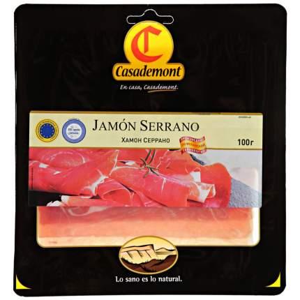 Хамон Casademont серрано сыровяленая нарезка 100 г