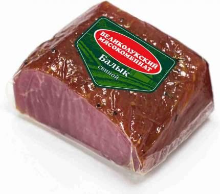 Балык Великолукский мясокомбинат свиной сырокопченый нарезка 150 г