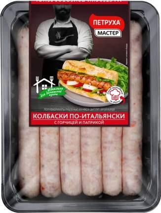 Колбаски петруха по-итальянски охл из мяса цб 600 г лоток смолевичи бройлер беларусь