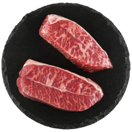 Стейк Мираторг топ блейд  black angus из мраморной говядины вакуумная упаковка 460 г