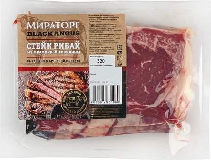 Стейк рибай мраморный из говядины 320 г в/у мираторг россия