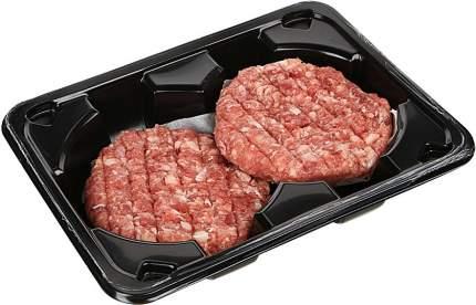 Бургер из говядины мираторг охлажденный формованный/ребленый 200 г