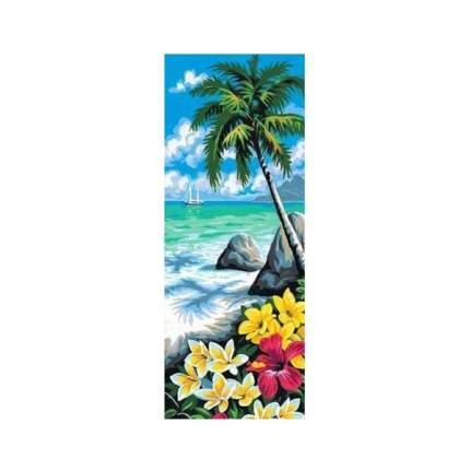 """Набор для вышивки крестом """"Рисунок на канве. Южный берег"""", 25x60 см, арт. MRC62-178"""