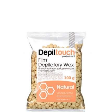 Воск для депиляции пленочный Depiltouch Film Depilatory Wax Natural в гранулах 100 гр
