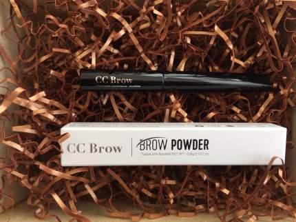 Пудра для бровей Lucas' Cosmetics Brow Powder Grey Brown серо-коричневая