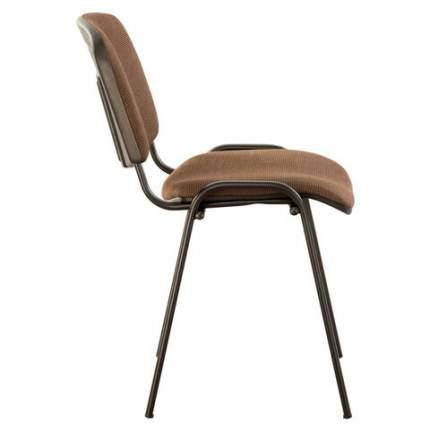 Офисный стул Brabix Iso 531973, черный/коричневый