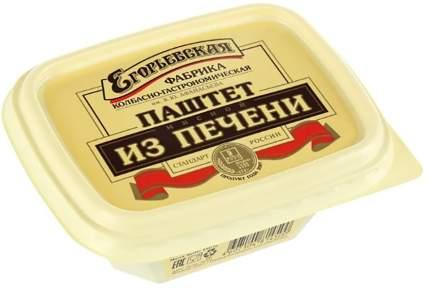 Паштет Егорьевская КГФ мясной из печени говядина свинина 150 г