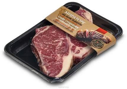 Стейк Мираторг стриплойн из мраморной говядины вакуумная упаковка 320 г