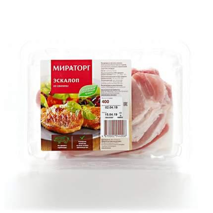 Эскалоп Мираторг охлажденный из свинины 400 г