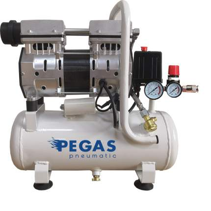 Бесшумный компрессор Pegas PG-601 безмасляный