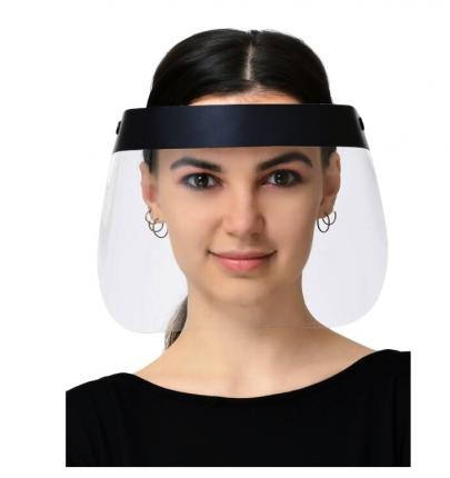 Защитный экран для лица черный MIG mg19-bk