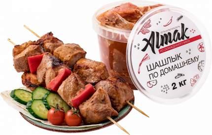 Шашлык альмак по-домашнему охл из свинины кг вес пл/ведро балтийский продукт россия