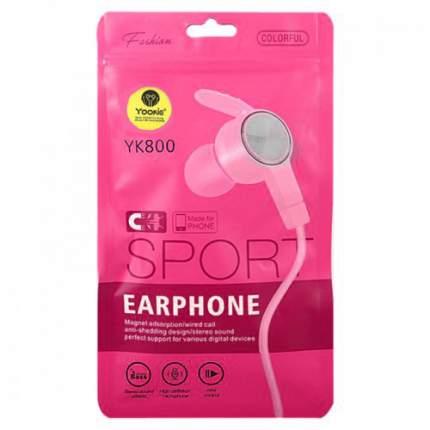 Наушники Yookie Yk800 Pink