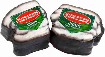 Шпик соленый кг в/у вес великолукский мк россия 300 г