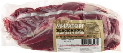 Голяшка мираторг блэк ангус охл б/к мраморная говядина кг в/у вес брянская мк россия