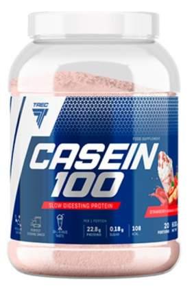 Trec Nutrition Casein 100, 600 г, вкус: клубника-банан