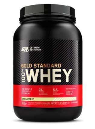 Optimum Nutrition Протеин Optimum Nutrition 100% Whey Gold Standard, 907 г, без вкуса