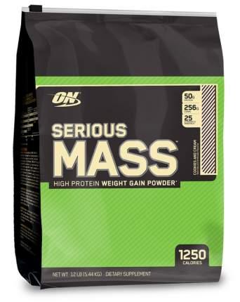 Optimum Nutrition Гейнер Optimum Nutrition Serious Mass, 5455 г, вкус: печенье-крем
