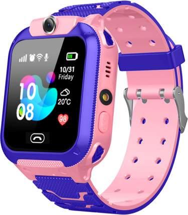 Детские GPS часы Nuobi Q12 Pink