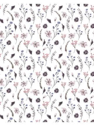 Тюль Сирень 'Прованские травы', Вуаль, 145х260 см - 2 шт