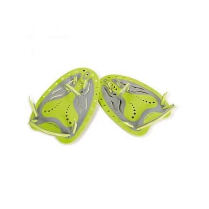 Лопатки для плавания ZOGGS Matrix, желтый/серый