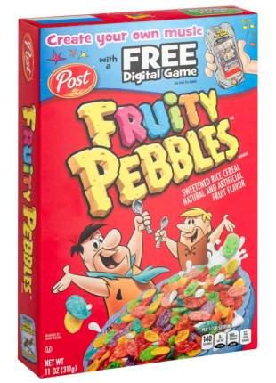 Готовый завтрак Fruitty Pebbles цветные хлопья, 311 г, Pebbles