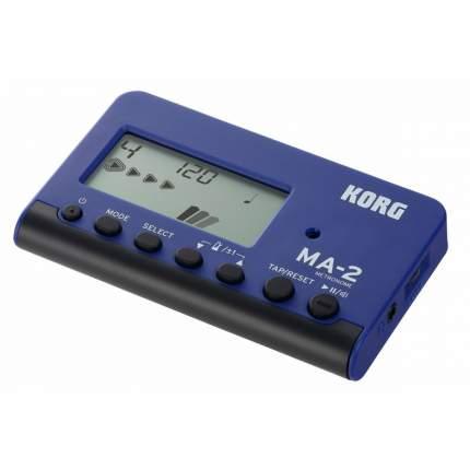 Цифровой метроном KORG MA-2 BLBK черно-синий, KORG (Корг)