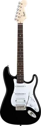 Электрогитара Fender Squier Bullet Strat Tremolo HSS Black, Fender (Фендер)