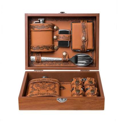 Подарочный набор в чемодане Helios GT-TZ196