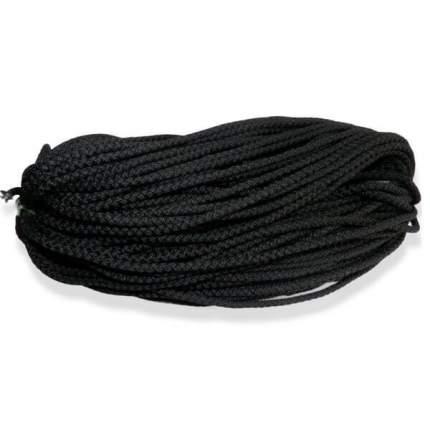 Шнур универсальный (полипропилен) 4,0мм (10м) (черный)