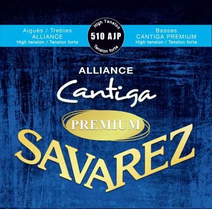 Струны для классической гитары Savarez 510AJP 25-44 Alliance Cantiga Premium High Tension