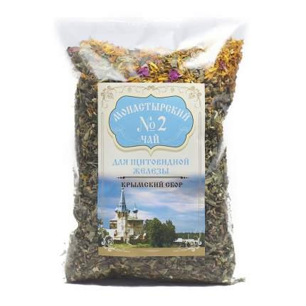 """Фиточай Крымский чай """"Монастырский №2 Для щитовидной железы"""", травяной, 100 г"""