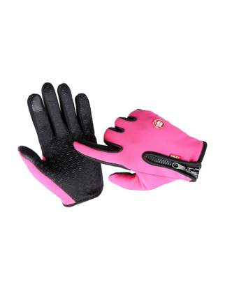 Велосипедные перчатки MoscowCycling MC-GLOVE-03, розовые, 8,5