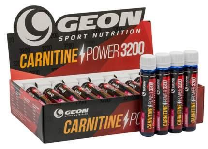 GEON Carnitine Power 3200, 20 амп, вкус: апельсин-маракуйя