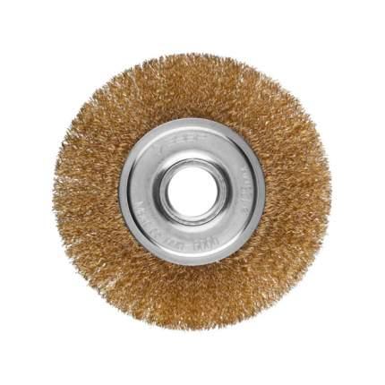 Дисковая кордщетка для угловых шлифмашин Зубр 35187-125