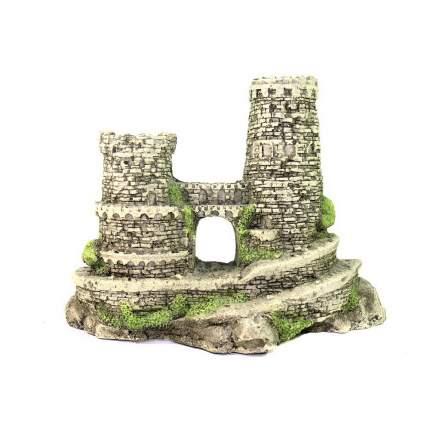 Грот для аквариума Deksi Мини Крепость №622, пластик, 21х7х10 см