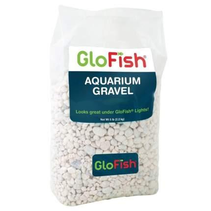 Грунт для аквариума Tetra GloFish флуоресцирующий, белый, 2,268 кг