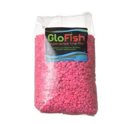 Грунт для аквариума Tetra GloFish флуоресцирующий, розовый, 2,268 кг