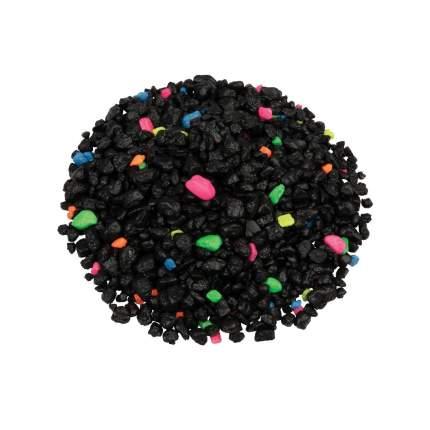 Грунт для аквариума Tetra GloFish черный с флуоресцирующими гранулами, 2,268 кг