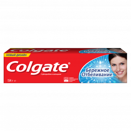 Зубная паста Colgate Бережное отбеливание 100 мл