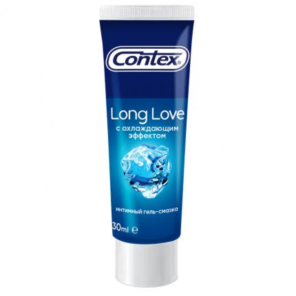 Интимная гель-смазка Contex Plus Long Love